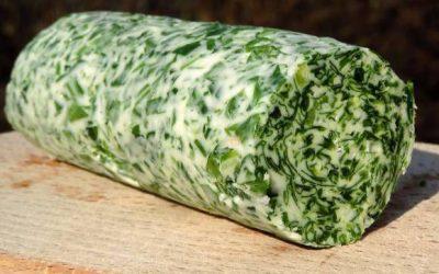 Bylinkové maslo (s medvedím cesnakom)