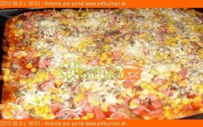 Chrumkavá pizza