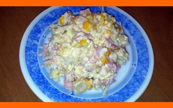 Dietny zeleninový šalát