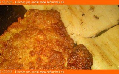Grilovaná polenta ako príloha k mäsu