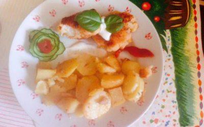 Jarný karfiol s kvalitnými zemiakmi