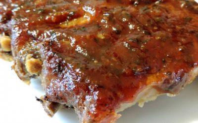 karamelovo zeleninová marináda na grilované mäso.