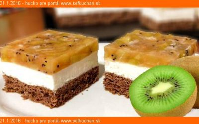 Kivi koláč