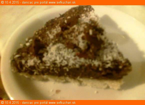 Nepečená čokoládovo kokosová RAW torta