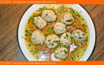 Originál židovské macesové knedličky do polievky