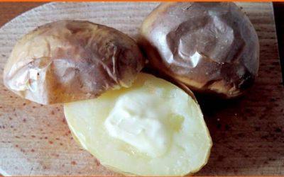 Pečené zemiaky na suchom plechu