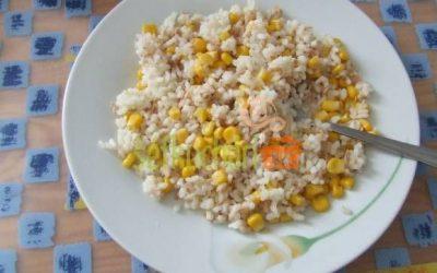 Tuniaková ryža