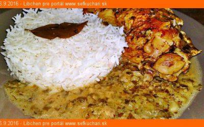 Varená ryža Basmati