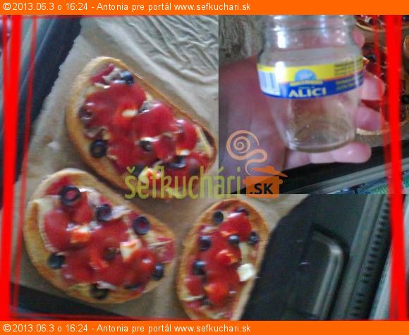 Zapečený chlieb s ALICI